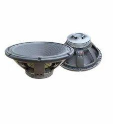 Black Benson Acoustics 15 Inch Power Audio Speaker, 1000 Watt