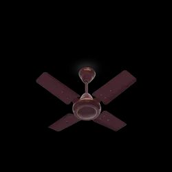 Brown Glam 4 Blade Electrical Ceiling Fans, Fan Speed: 850 Rpm, Power: 80 W