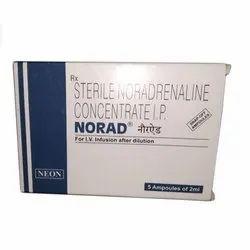 NORADRENALINE  2MG/2ML