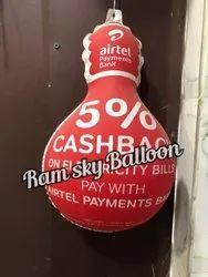 Airtel dangler Balloon