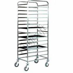 Stainless Steel Bakery Trolley
