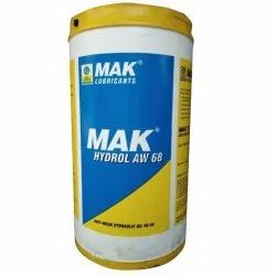 Mak Hydrol AW 68 Hydraulic Oil, For Industrial, Packaging Size: 210 Litres