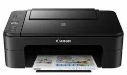 Black & White Canon Pixma E3370 Printer