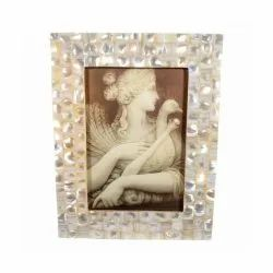 Brown Mop Picture Frame, Size: 6*4 Inch