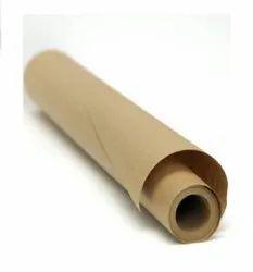Wood Pulp High Brown Kraft Paper Roll, For Packaging, 150Gsm