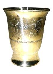 Brass Water Drinking Glass, For Hotel