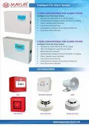 4 Zone Fire Alarm System