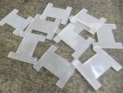 Plastic Flat Bobbin Spool For Chains Thread And Wire