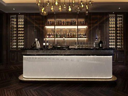 Argmac Wooden Modern Home Bar Furniture, Living Room Bars Furniture