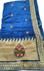 Vichitra Silk Fancy Saree