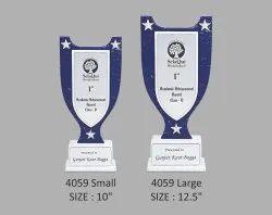 Marble White Premium Wooden Trophy