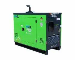 KG1-7.5AS4 Kirloskar 7.5 KVA Diesel Generator, 1 Phase
