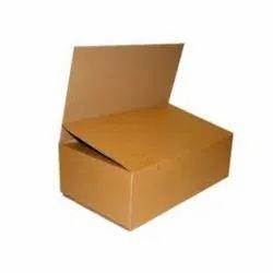 Cardboard Rectangular Brown Plain Flat Duplex Box, For Food, Weight Holding Capacity (kg): <5 Kg