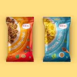 Packaging Plastic Packet Design