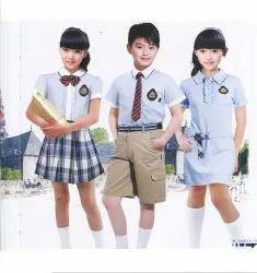 Elegance Garments Polyester Kids School Uniform