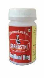 Grahasthi Masale 20 Gm Bandhani Hing Powder, Packaging Type: Bottle