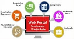 PHP/JavaScript Dynamic WEB Portal Development Service, With 24*7 Support
