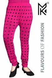 Polka Dots Print Legging