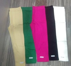 MK Rib Ladies Plain Cotton Legging, Size: XL,XXL