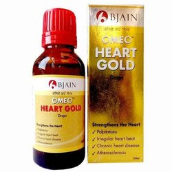 Bjain Omeo Heart Gold Drops, For Personal, Packaging Type: Bottle