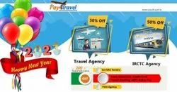 Multi City Pay4Travel Booking Agency Id, Pan India