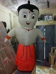Chota Bheem Inflatable Walking Cartoon Character