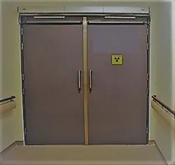 Lead Line X Ray Room Door