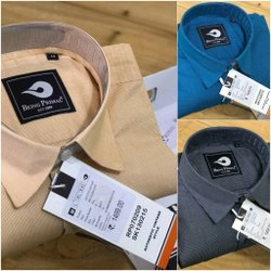 Being Primal Office Wear Mens Check Full Sleeve Shirts (Bp59-B)