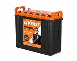 Livfast Maxximo MXTT 2660 Inverter Battery, 230 Ah