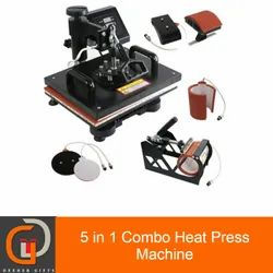 5 In 1 Combo Heat Press Sublimation Machine