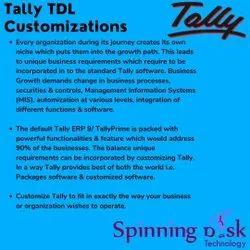 Tally TDL Customization Service