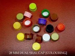 28mm Plastic Dual Seal Cap