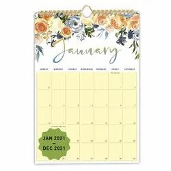 Wall Calendar Binding Services, in Workshop