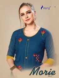 Rayon Formal Wear Rangjyot Morie Vol - 1, Wash Care: Dry Clean