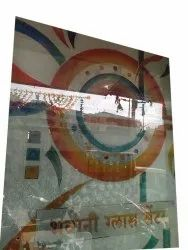 Designer Glass, For Wardrobes, Thickness: 6 Mm
