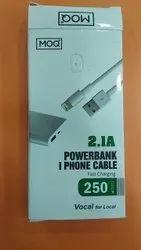 2.1 A MOQ IPhone Cable