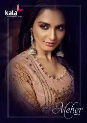 Kala Meher Vol-4 Exclusive Karachi Designer Premium Cotton Suits Catalog