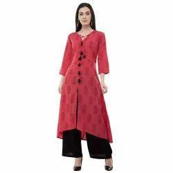 XL,XXL Ladies Casual Wear Cotton Kurti, Wash Care: Machine wash