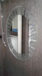 5mm Thick Polished Single Premium Mirrors, For Home, Size: 18x24 Inch