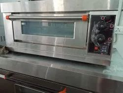 S.S Commercial Single Deck Single Tray  Electric Oven