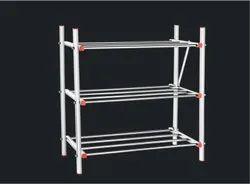 Stainless Steel Multipurpose Rack Book,Shoe Rack,