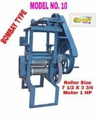 Sugarcane Crusher Machine Bombay Type Model No. 10