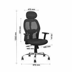 Fabric High Back Executive Chair