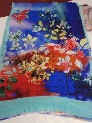 Cotton Printed Banarasi Saree