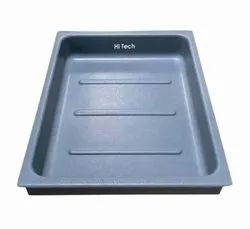 ABS Rectangular Plastic Surgical Tray, For Hospital