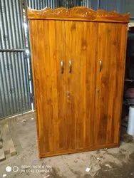Three Door Wooden Almirah