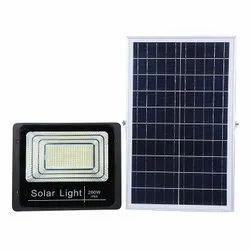 LED Flood Solar  Light With Panel