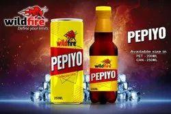 Wildfire Brown Pepiyo Soft Drink, Packaging Size: 200ml, Packaging Type: PET Bottle