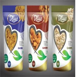 Dry Fruit Deluxe Printed Standy Pouches
