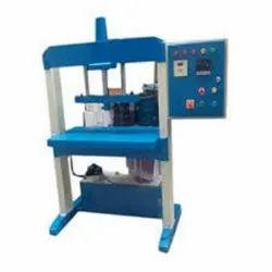 Semi Automatics Hydraulic Paper Plate Single Die Machine